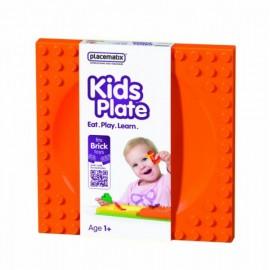 kids-plate-orange