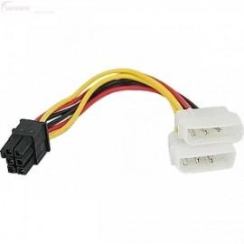 cablu-alimentare-placa-video-de-la-2-x-molex-la-6-pini