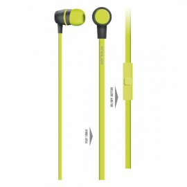 IN-EAR HEADPHONES WITH MIC SERIOUX LIME