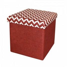 taburet-pliabil-textil-rosu