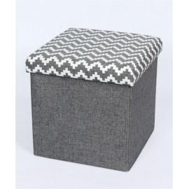 taburet-pliabil-textil-gri