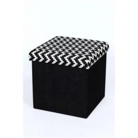taburet-pliabil-textil-negru