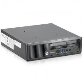 Calculator HP EliteDesk 800 G1 Desktop USDT, Intel Core i5 Gen 4 4590 3.3 GHz, 4 GB DDR3, 500 GB HDD SATA, Windows 10 Home, 3 Ani Garantie