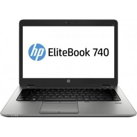 Laptop HP EliteBook 740 G2, Intel Core i5 Gen 5 5200U 2.2 Ghz, 8 GB DDR3, 128 GB SSD NOU, Wi-Fi, 3G, Bluetooth, Webcam, Display 14inch 1366 by 768, Windows 10 Pro, 3 Ani Garantie