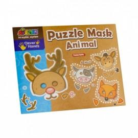 masca-din-puzzle-animale