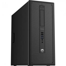 Calculator HP EliteDesk 800 G1 Tower, Intel Core i3 Gen 4 4150 3.5 GHz, 8 GB DDR3, 128 GB SSD NOU, DVDRW, Windows 10 Home, 3 Ani Garantie