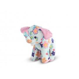 Jucarie Textila Floral Elephant UG-ASN12